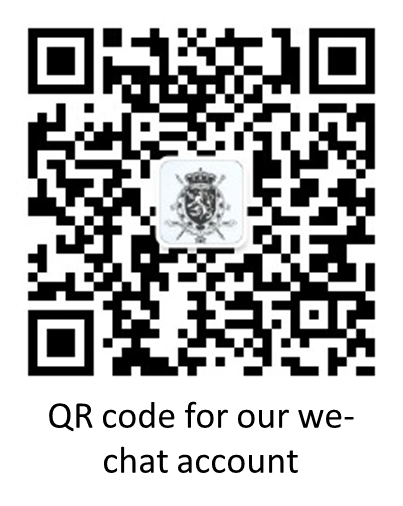 Swipe the QR code to follow our we-chat account